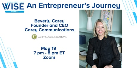 An Entrepreneur's Journey with Beverly Carey tickets