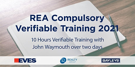 REA COMPULSORY VERIFIABLE TRAINING JUNE 2021 - HAMILTON tickets