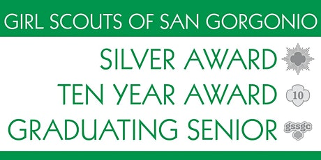 GSSGC Central West Region Silver Award, 10 Year Award, Graduating Senior tickets