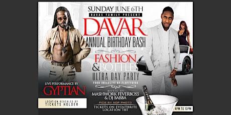 Copy of DAVAR 10th annual BIRTHNIGHT BASH tickets
