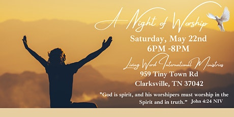 A Night of Worship tickets