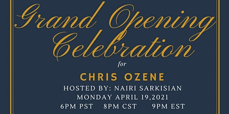 Chris's Grand Opening Celebration tickets
