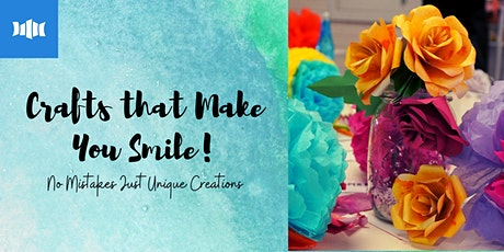 Crafts That Make You Smile - Ulladulla Library tickets