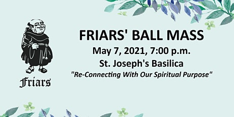 Friars' Ball Mass 2021 tickets