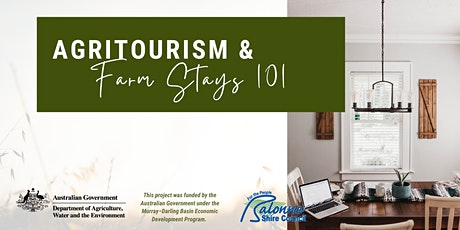 Agritourism & Farmstays 101: St George tickets