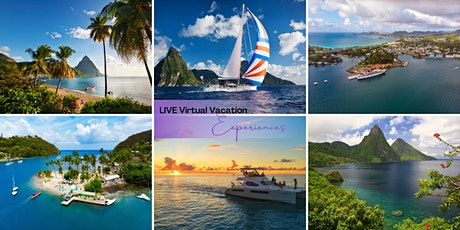 LIVE Virtual Vacation Escape ~ Broadcasting LIVE from the Caribbean tickets