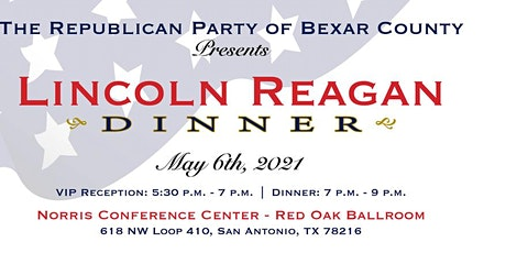 Bexar County Lincoln/Reagan Dinner featuring James O'Keefe tickets