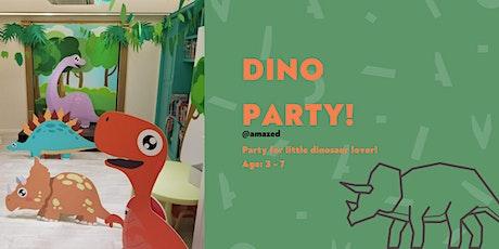 Amazed Dinosaur party tickets