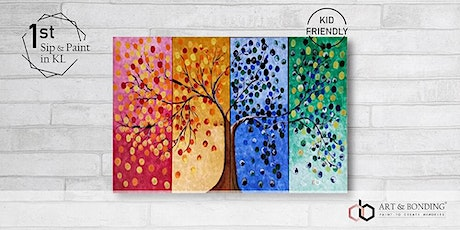 Mother's Day Special Sip & Paint : Four Seasons Tree Collage tickets