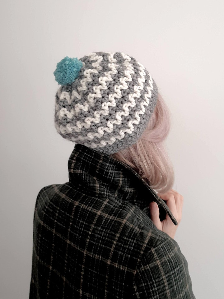 Zig  Zag Crochet Hat Class With Vanessa Ion image