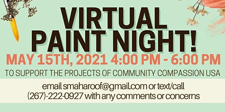 Virtual Paint Night for Community Compassion USA tickets