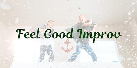 Online 'Feel Good' Workshop | Monday Night Improv! tickets