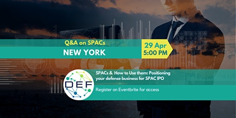 DEF New York: Q&A on SPACs tickets