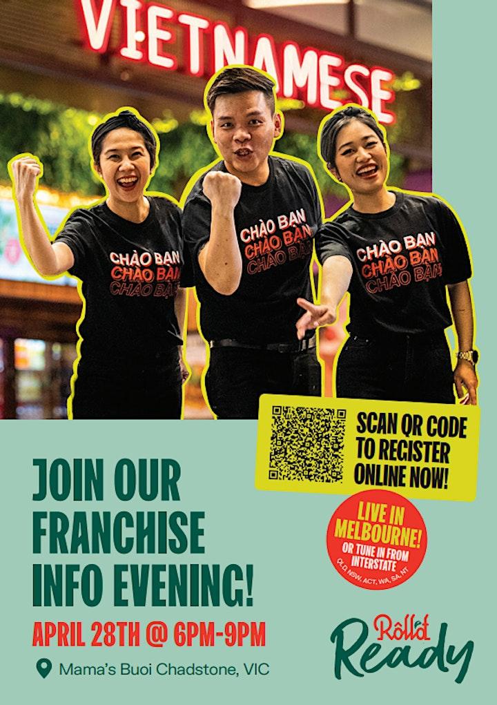 Melbourne Franchise Information Evening image