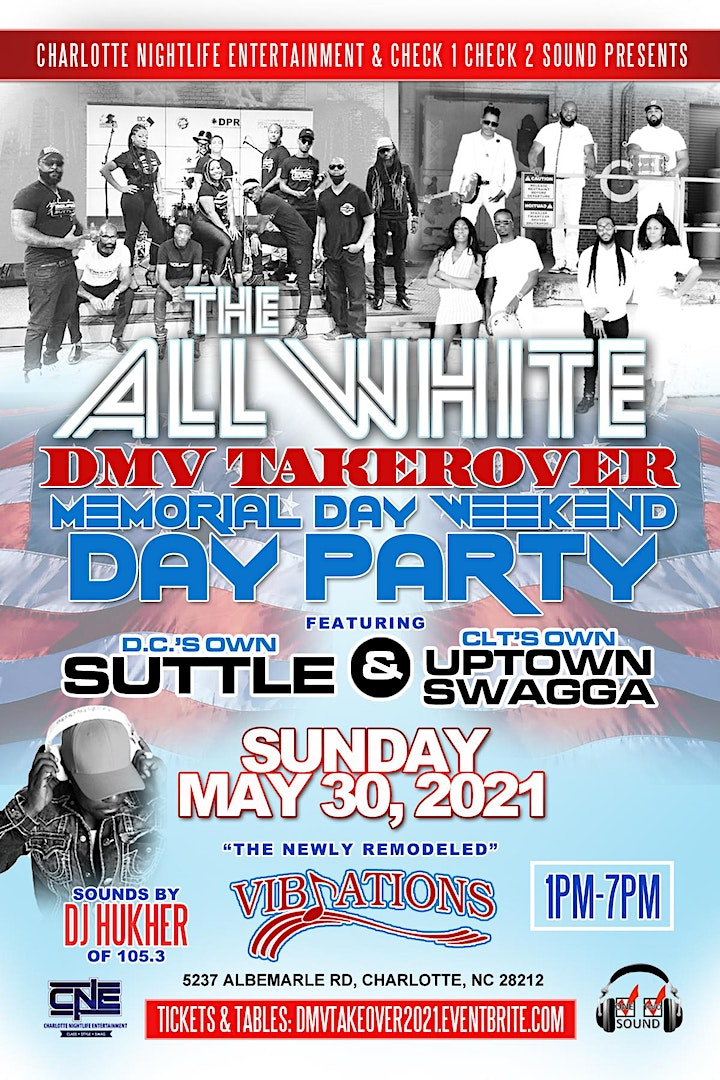 DMV Takeover - Memorial Day Weekend 2021 image