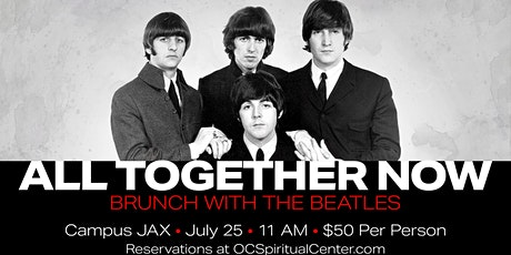 All Together Now~Brunch with the Beatles tickets