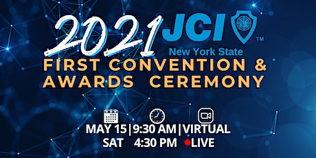 2021 JCI New  York State 1st Convention and Awards Ceremony tickets