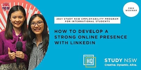 How to develop a strong online presence with LinkedIn tickets