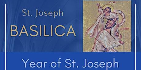 In-person Vigil Mass Reservation: Saturday, April 24th,  5:00 pm, Basilica tickets