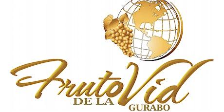 SERVICIOS ADORACION Y MINISTRACION FRUTO DE LA VID GURABO boletos