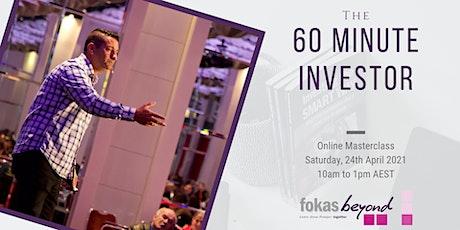 60 Minute Investor Online Masterclass Tickets