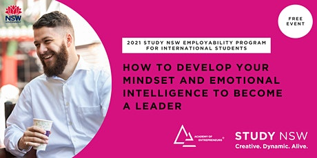 How to develop your mindset and emotional intelligence to become a leader tickets