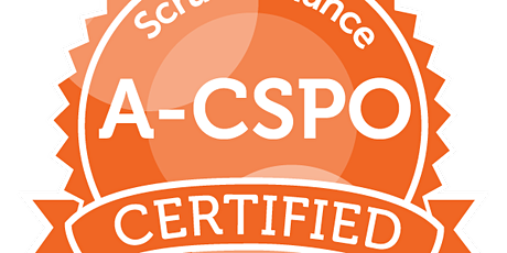 Advanced Certified Scrum Product Owner | A-CSM | ScrumAlliance |1:1|EN tickets