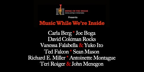 Music While We're Inside Free Jazz Concert on Sunday, April 18th at 6PM tickets