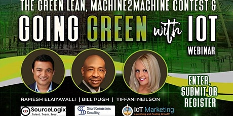 Going Green with IoT Webinar and Contest Tickets