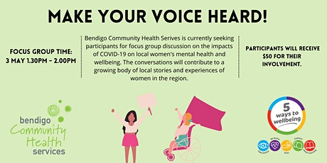 The Impact of COVID on Regional Victorian Women's Mental Health & Wellbeing tickets
