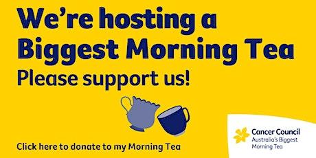 Biggest Morning Tea Fundraiser | LJ Hooker City Residential tickets