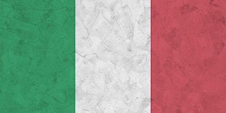 Italian Classes - Maryborough Library tickets