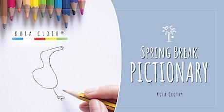 Kula Academy Spring Break: Pictionary tickets