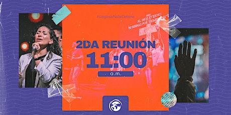 Segunda Reunión - 11:00 AM - Iglesia Kairos boletos