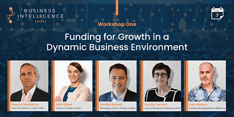 BIS Workshop 1 - Funding for Growth in a Dynamic Business Environment tickets