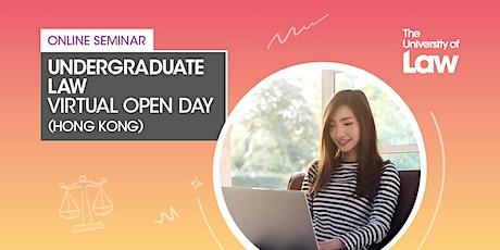 Virtual Undergraduate Law Open Day tickets
