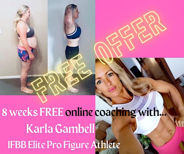 WIN 8 weeks FREE online Transformation coaching! image