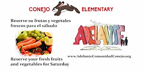 Conejo Elementary Frutas y Vegetales / Fruits and Vegetables tickets