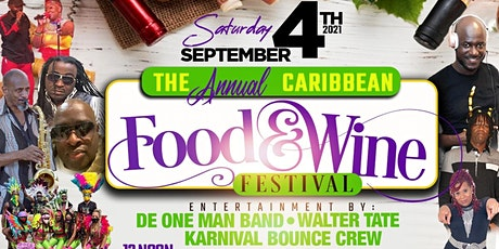 CARIBBEAN FOOD AND WINE FESTIVAL tickets