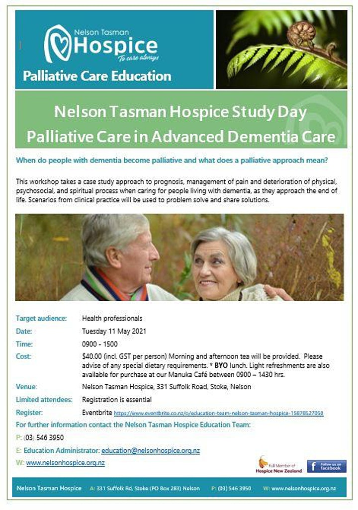 Palliative Care in Advanced Dementia image