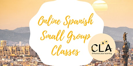 Online Spanish Small Group Classes entradas