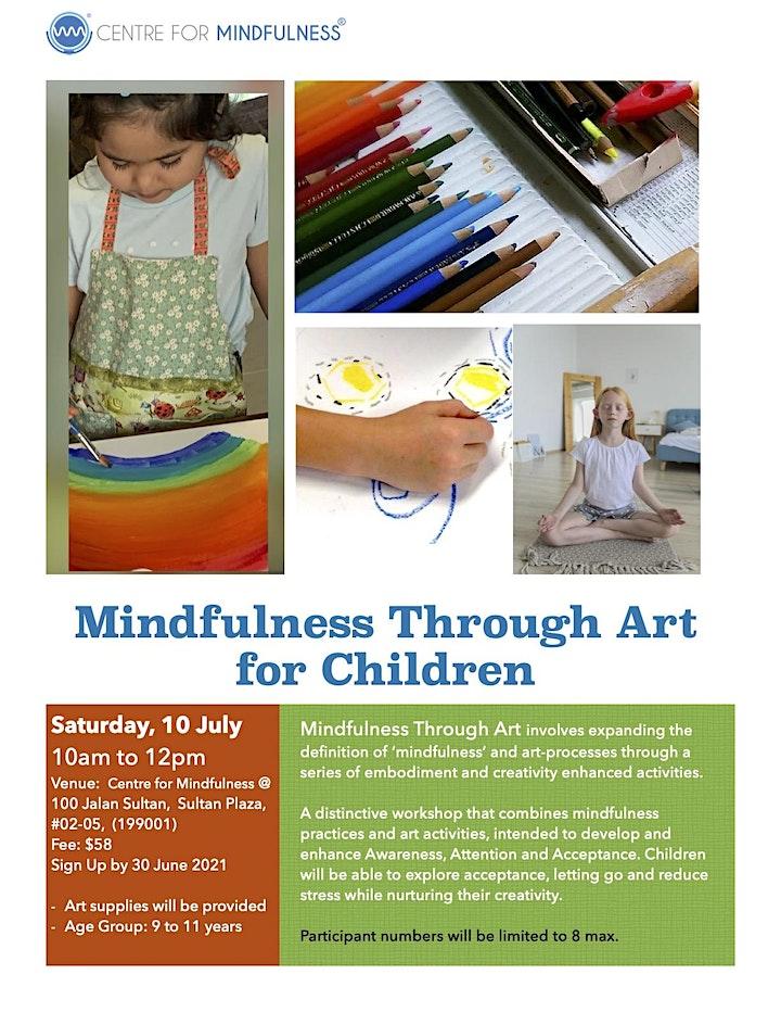 Mindfulness Through Art for Children (Jul) image