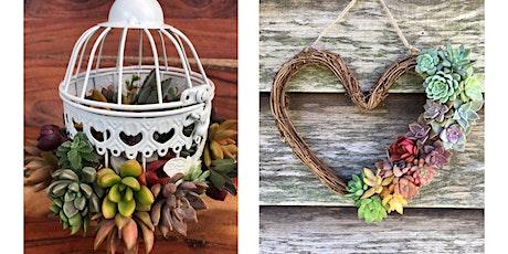 Small Birdcage & Rainbow Heart Wreath Workshop tickets
