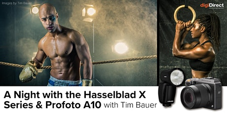 A Night with the Hasselblad X Series & Profoto A10  - with Tim Bauer tickets