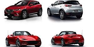 2016 Mazda MX-5 (Miata) & CX-3 Measuring Session, June...
