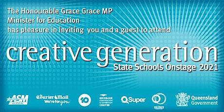 Creative Generation - State Schools Onstage 2021 tickets