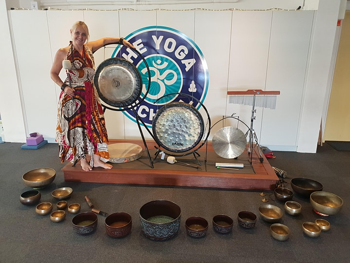 Gongs and Tibetan Singing Bowl Meditation image