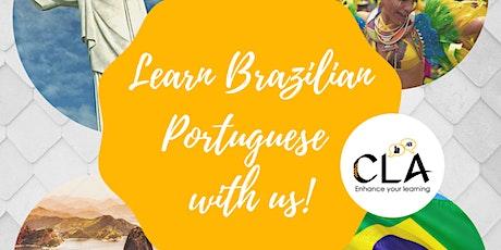 Online Brazilian Portuguese Small Group Classes tickets