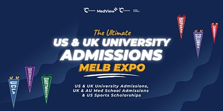 The Ultimate US & UK University Expo 2021 (MELBOURNE) tickets