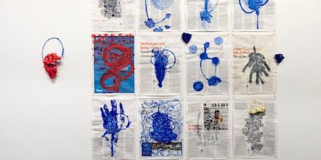 Chris De Rosa | Explore sea living organisms to create print-based works tickets
